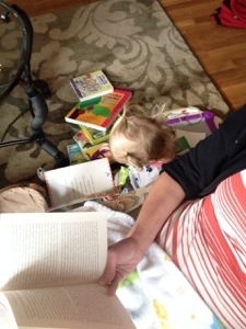 Modeling quiet reading time