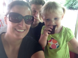 Honoring the need for quality time with a zoo-selfie