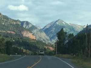 Descending into Ouray