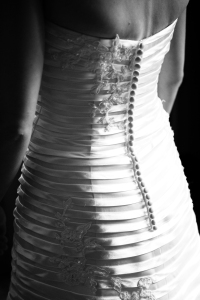 Detail of my dress