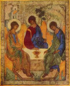 Holy Trinity by Andrey Rublev