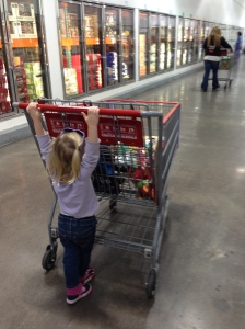"""Helping"" at Costco"