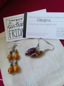 Stunning earrings from Earring of the Month Club